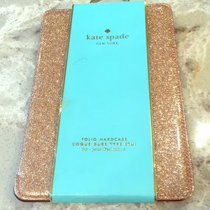 Kate Spade IPAD Mini Glitterbug Gold Hard Case
